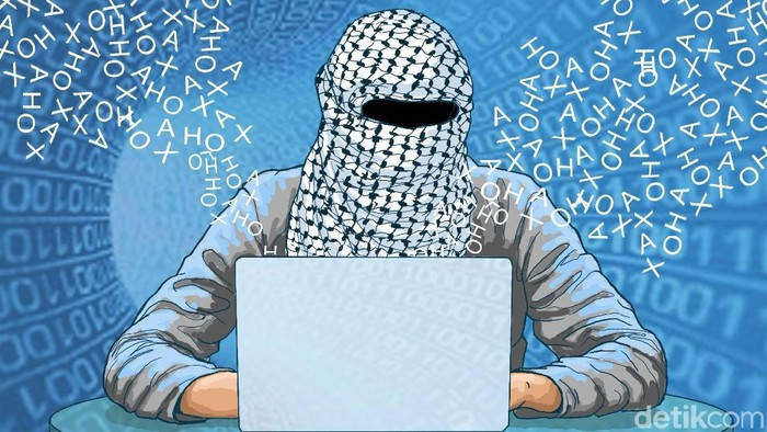 Ilustrasi tulisan tentang Muslim Cyber Army