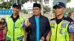 Naik KRL Sambil Kampanye, Ridwan Kamil: Depok Suaranya Besar