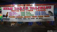Salah satu warung tenda yang ada di TMP Kalibata.