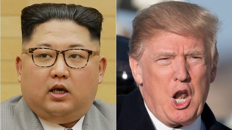 Trump Terima Undangan untuk Bertemu Pemimpin Korut Kim Jong-Un