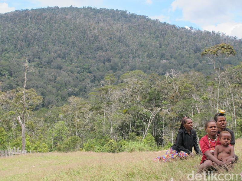 7 Suku yang hidup di sekitar kawasan tambang Freeport adalah suku Moni, Amungme, Kamoro, Dani, Damal, Ekari atau Mee dan Nduga (Afif Farhan/detikTravel)