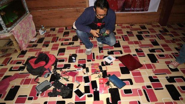 Sindikat Penipuan Undian WhatsApp Ditangkap Polisi di Sulsel