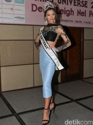 Datang ke Jakarta, Miss Universe 2017 Cerita Pernah Ditodong Perampok