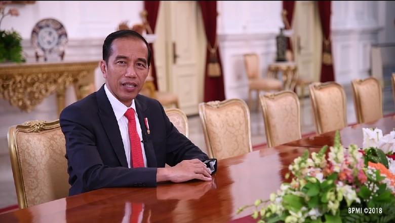 Doa Jokowi untuk Istri Gus Dur: Sehat Terus, Kami Butuh Kehadiran Ibu