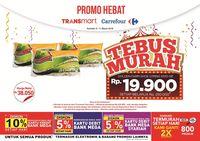 2 Pilihan Tebus Murah di Akhir Pekan Transmart Carrefour
