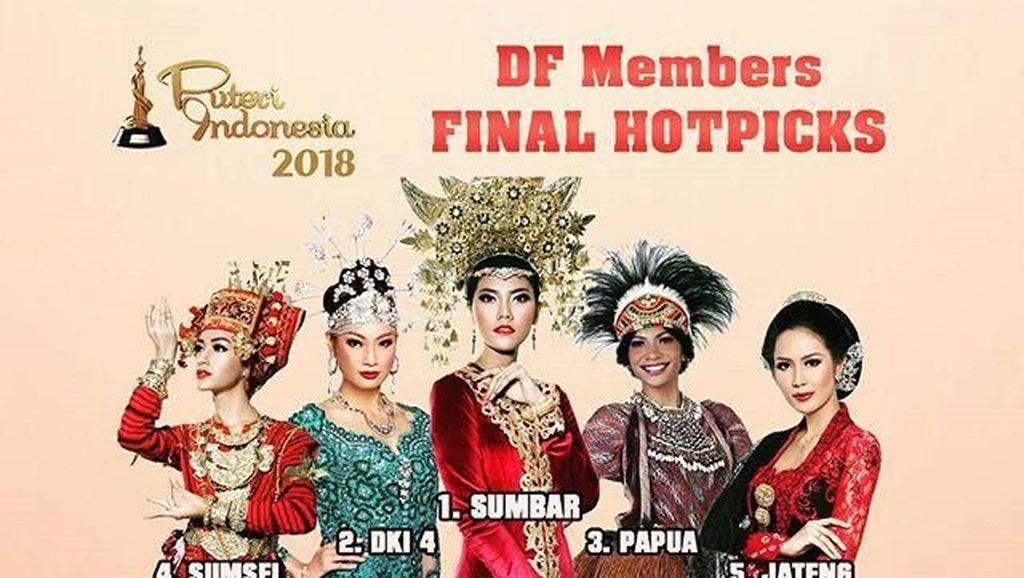 Inilah Prediksi Pemenang Puteri Indonesia 2018