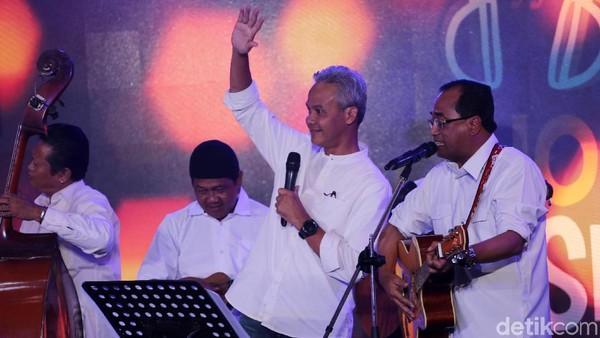 Ganjar Pranowo: Musik Membuat Orang Senang