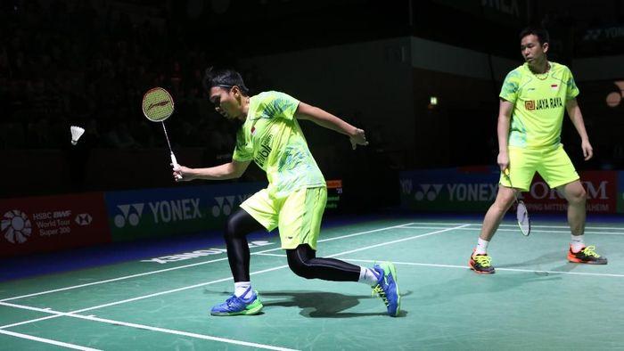 Mohammad Ahsan/Hendra Setiawan lolos ke perempatfinal Jerman Terbuka (Tim Humas Dan Social Media PP PBSI)