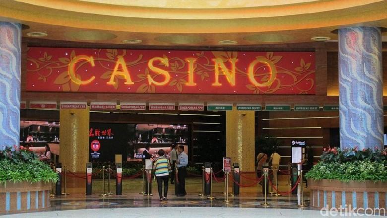 Ini Kasino Singapura yang Dihebohkan Netizen Gara-gara Foto Anggota DPRD