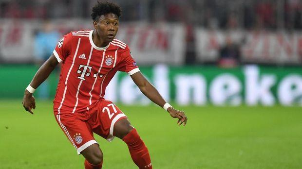 David Alaba baru mencetak satu gol untuk Munich pada musim ini.