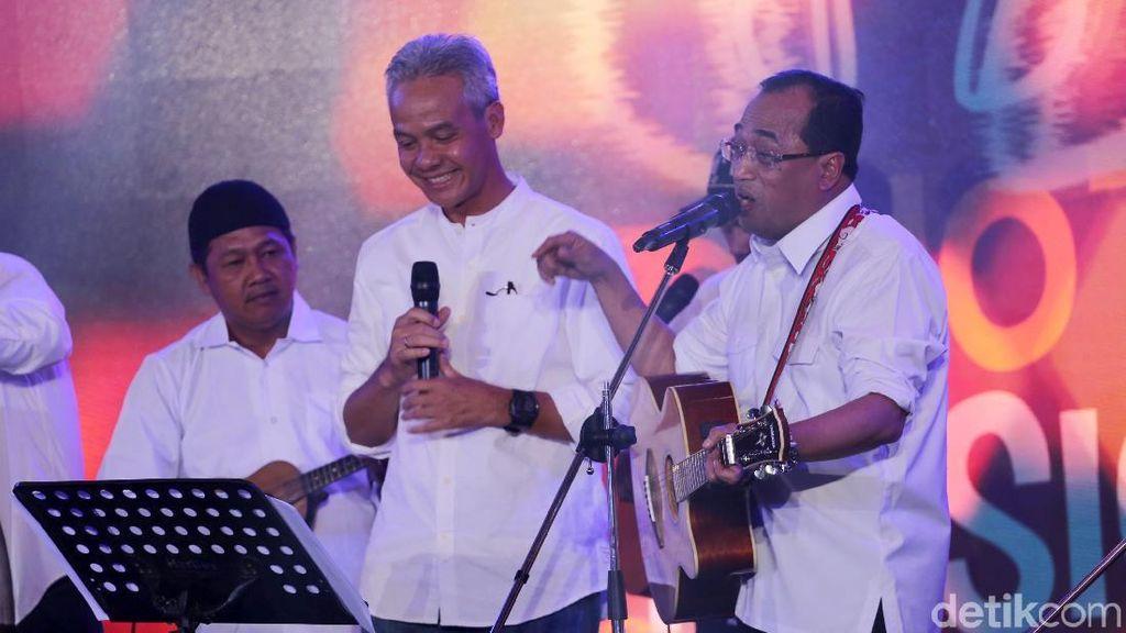 Ganjar Pranowo Harap Lebih Banyak Acara Musik di Indonesia