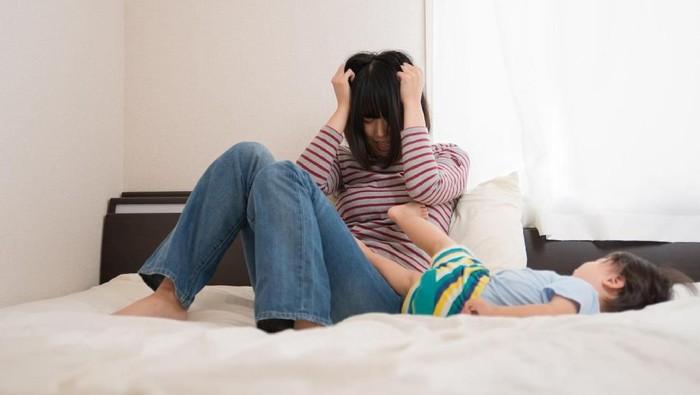 Baby blues bisa berkembang menjadi depresi postpartum. (Foto: Thinkstock)