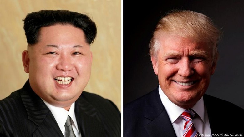 Foto: Akan Bertemu Mei, Ini Jejak-jejak Perselisihan Trump-Kim Jong Un