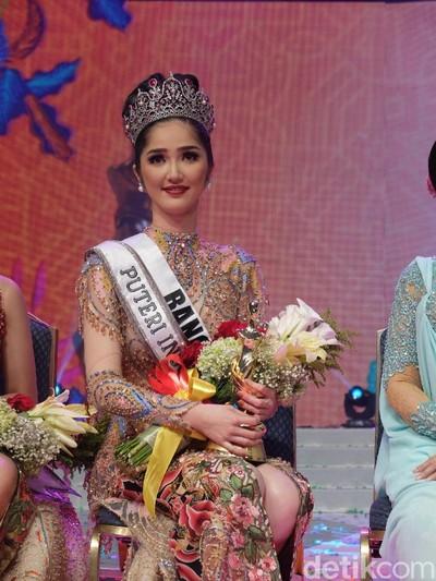 Pemenang Puteri Indonesia 2018 Sonia Fergina dari Provinsi Bangka Belitung. Foto: Anggi/Wolipop