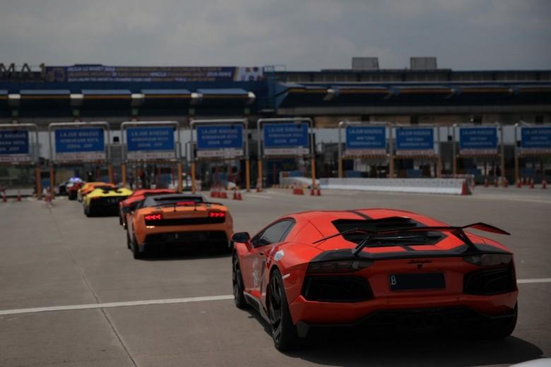 Deretan mobil di atas 3.000cc. Foto: dok. Lamborghini