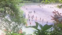 Tank yang Kecelakaan di Sungai Bogowonto Tergelincir dan Tenggelam