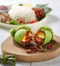 Wow! Curry Puff Nasi Lemak Ini Berisi Ikan Bilih, Telur Rebus hingga Sambal!