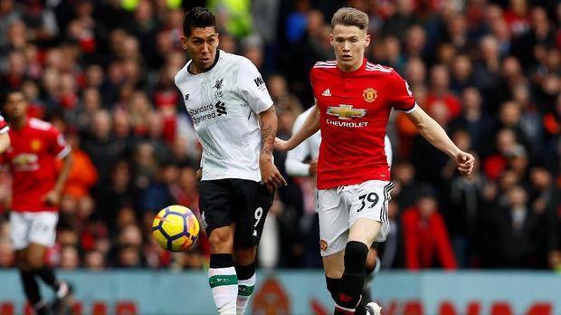 Scott McTominay dimainkan sebagai starter Man United. (