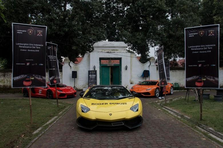 Di Indonesia, mobil super seperti Lamborghini lebih sering dikendarai. Selain karena tidak macet, mengendarai mobil Italia itu juga bisa melepas penat. Foto: dok. Lamborghini