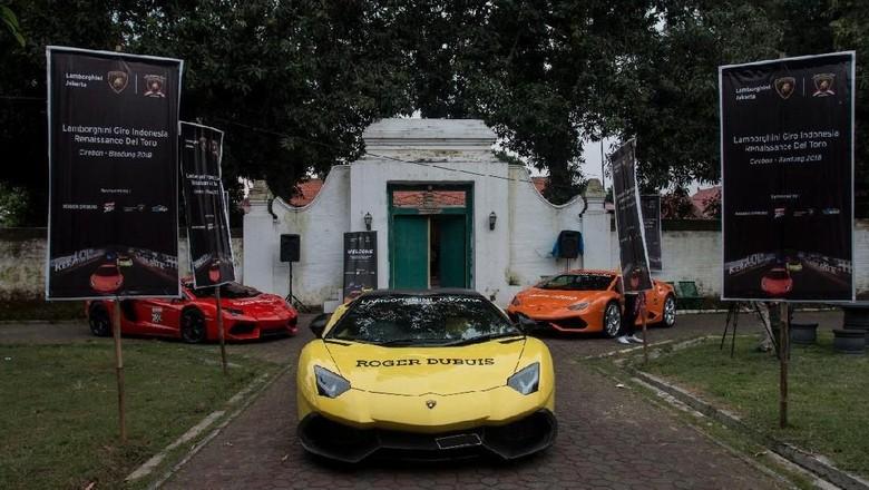 Tak Mungkin Pakai Lamborghini di Jakarta Alasan Komunitas Gelar Turing Foto: dok. Lamborghini