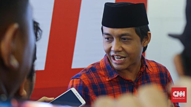 Sekretaris Jenderal PSI Raja Juli Antoni, di Jakarta, Sabtu (10/3).
