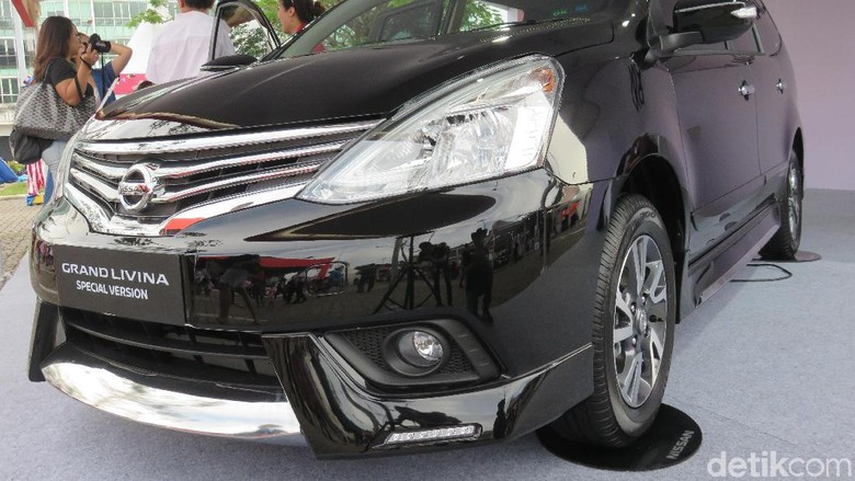 Nissan Grand Livina (Foto: Ruly Kurniawan)
