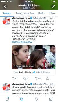 Suarakan Ganti Presiden, Wasekjen PKS Bicara 'Istana Pasir Jokowi'