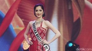 Cantiknya Top 6 Puteri Indonesia 2018 Pakai Tenun Garut & Batik Mega Mendung