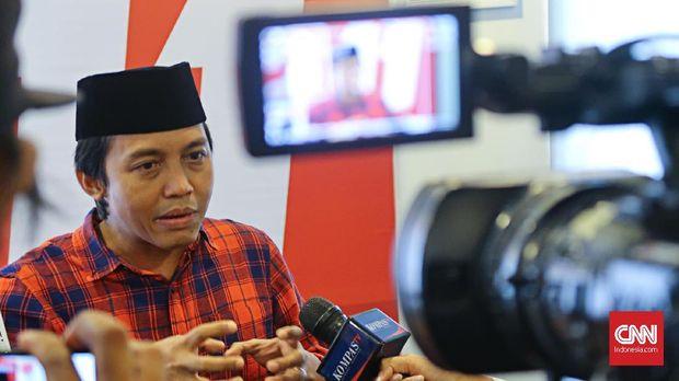 Sekretaris Jenderal PSI Raja Juli Antoni, Jakarta, Sabtu (10/3).