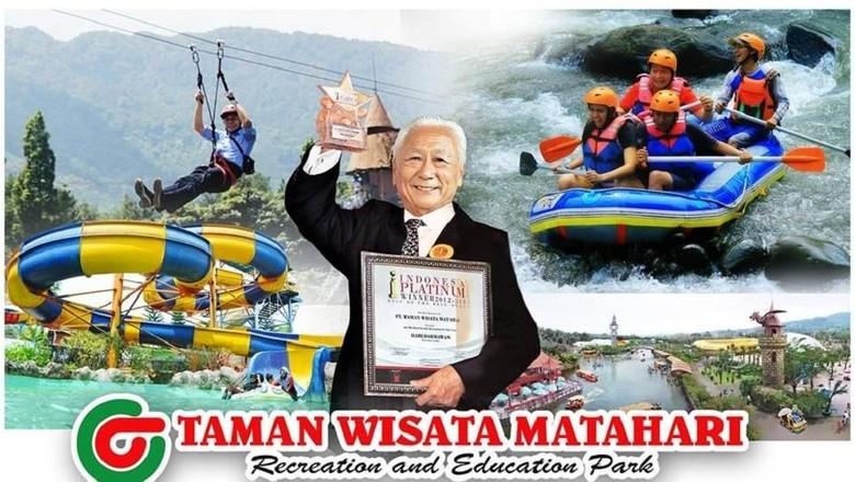 Foto: Hari Darmawan pendiri Taman Wisata Matahari (istimewa)