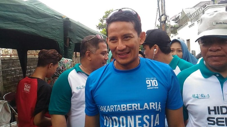 Sandiaga Ingin Warga Jakarta Demam Asian Games