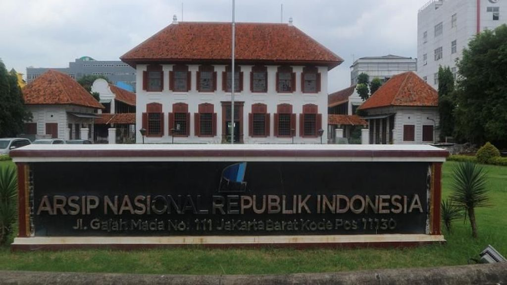 Mengintip Gedung Arsip Nasional Peninggalan Klasik Belanda
