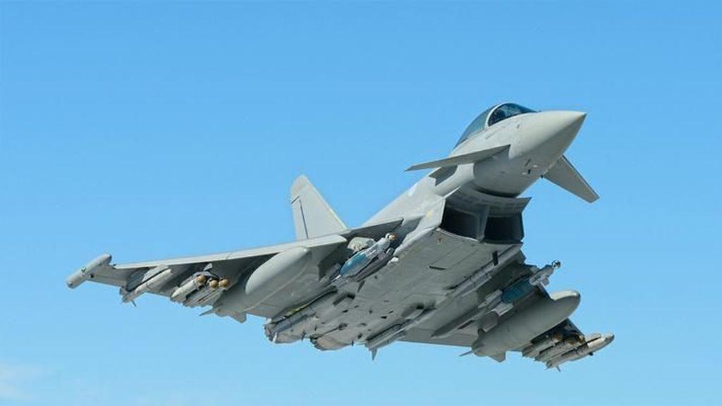 Jet Tempur Spanyol Tak Sengaja Tembakkan Rudal Saat Latihan