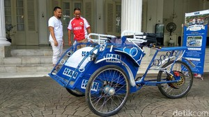 Pemprov Susun Aturan Operasi Becak di Jakarta