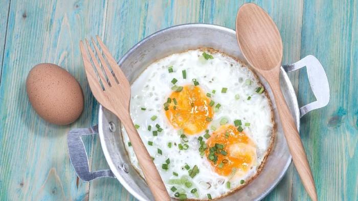 Telur mengandung protein yang cukup tinggi. Foto: ilustrasi/thinkstock