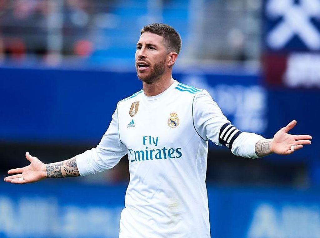 Video Sergio Ramos Ngamuk ke Pemain Muda Madrid