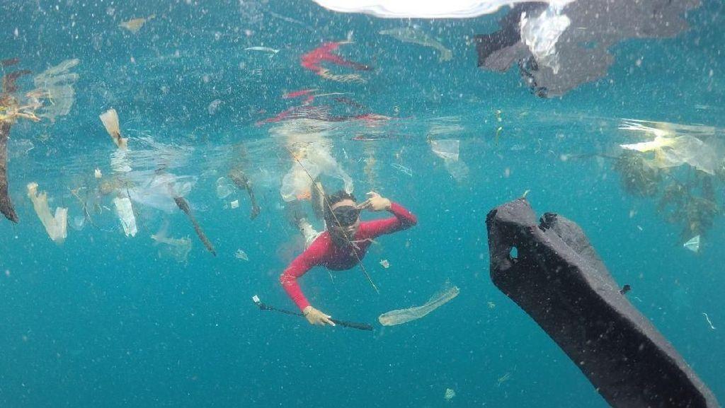 Laut Bali Sudah Bersih, Tapi Sampahnya Masih Mengalir
