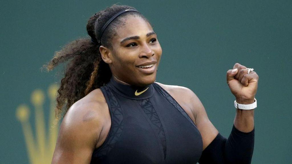 Petenis Serena Williams Tetap Menstruasi Saat Hamil, Kok Bisa?