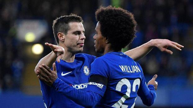 Chelsea mulai merapatkan diri dengan zona Liga Champions.