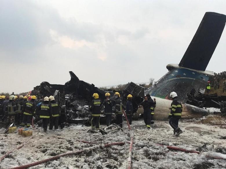Cerita Korban Selamat Pesawat Maskapai Bangladesh yang Jatuh di Nepal