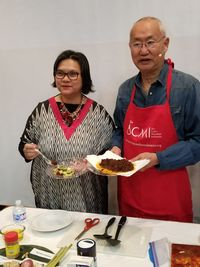 Rendang yang Kaya Rempah Disajikan William Wongso di Houston