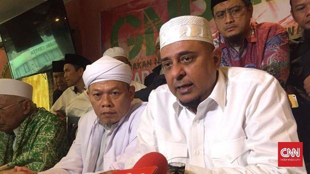 Ketua GNPF Ulama Yusuf Muhammad Martak, di Jakarta, Senin (12/3).
