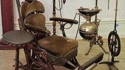 Alat-alat kedokteran gigi zaman dahulu sungguh terlihat menyeramkan, pantas saja banyak orang yang enggan dan merasa takut datang ke dokter gigi.