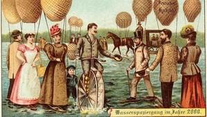 Ramalan Nyeleneh Kartu Pos Tahun 1900 Tentang Masa Sekarang