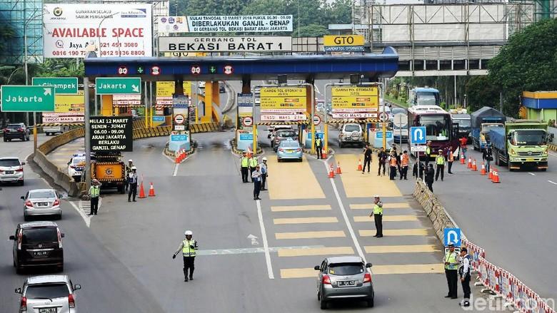 Cegah Macet, Rest Area Tol Cikampek akan Dibuka-Tutup