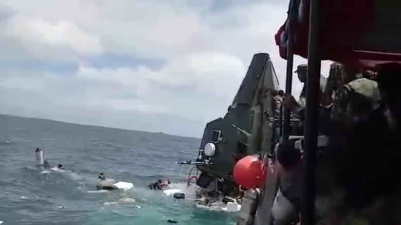 Kapal TNI yang Tenggelam di Pulau Seribu Seharga Rp 12 Miliar