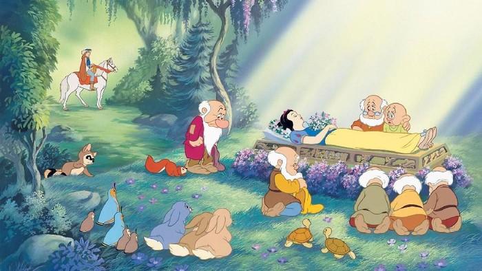 ilustrasi Snow White