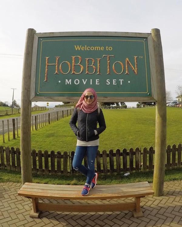 Hobbiton yang terkenal di Selandia Baru (radiahsarip/Instagram)