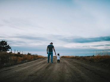 Sayangnya Ayah Tanner ke Hudson nggak diragukan lagi. (Foto: Rein Photography)