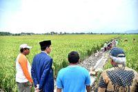 Jokowi mengatakan anggaran Program Padat Karya Tunai akan dinaikkan bila berdampak positif bagi masyarakat